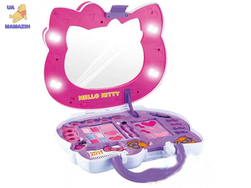 чемодан с косметикой hello kitty купить