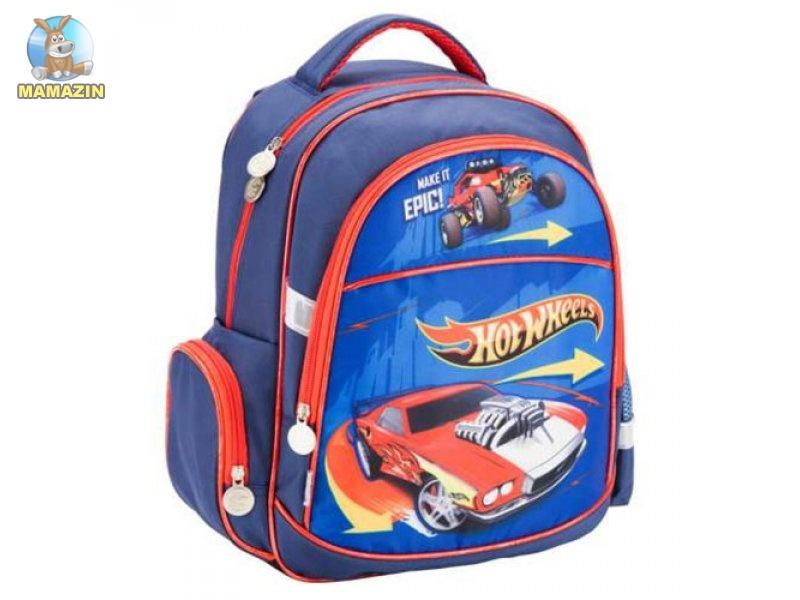 7a540998cc33 Рюкзак ортопедический школьный Kite Hot Wheels
