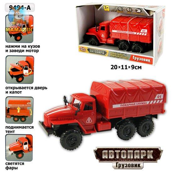 """Машинка детская """"Пожарная служба"""" 9494-A PLAY SMART купить - отзывы, цена, бонусы в магазине игрушек Мамазин"""