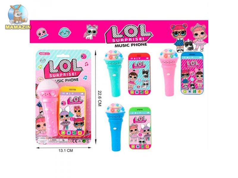 d5642bb4c902 Детский телефон LOL, BN452 A-Toys купить - отзывы, цена, бонусы в ...