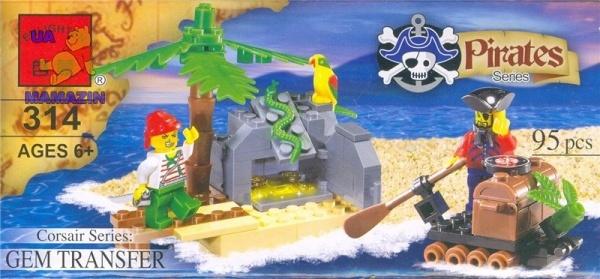 Купить лего брик пираты